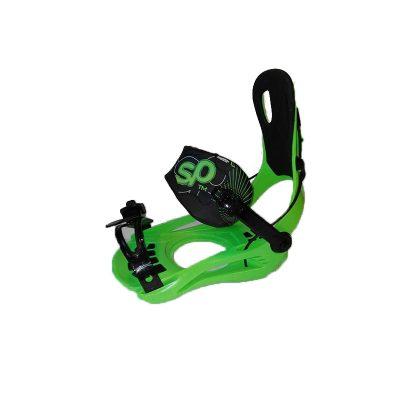 SP zelené snowboardové viaz